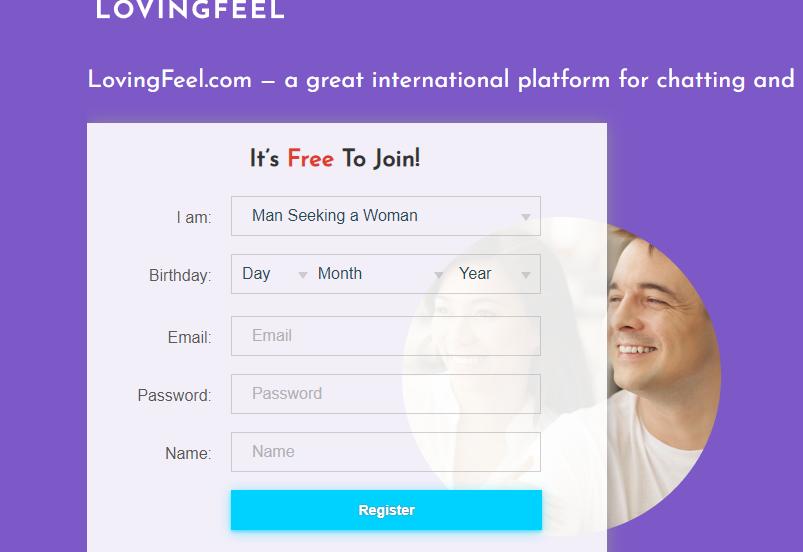 LovingFeel main page