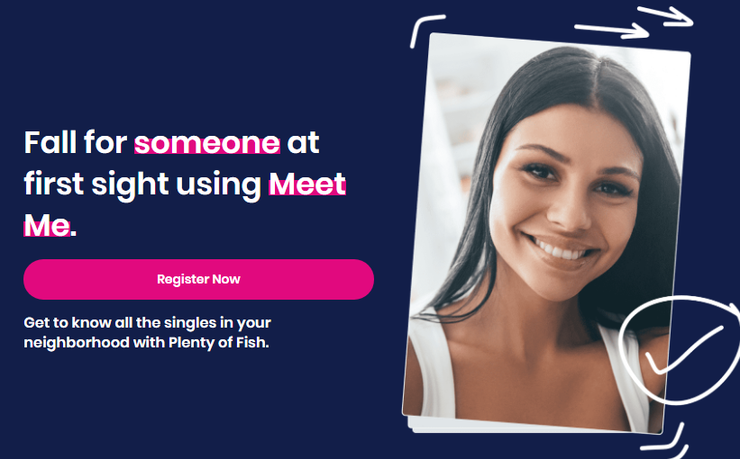 Plenty of Fish registration
